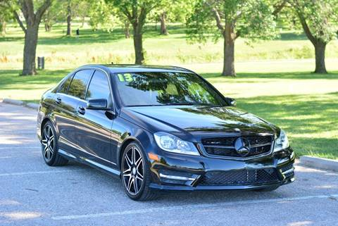 2013 Mercedes-Benz C-Class for sale at UNISELL AUTO in Omaha NE