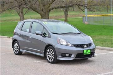 2013 Honda Fit for sale at UNISELL AUTO in Omaha NE