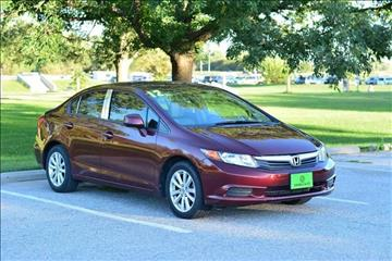 2012 Honda Civic for sale at UNISELL AUTO in Omaha NE