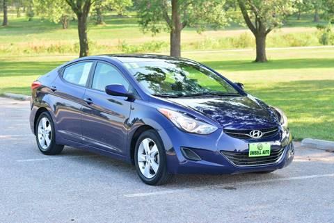 2013 Hyundai Elantra for sale at UNISELL AUTO in Omaha NE