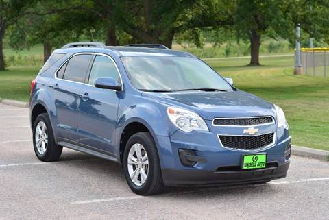 2012 Chevrolet Equinox for sale at UNISELL AUTO in Omaha NE