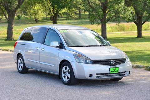 2008 Nissan Quest for sale at UNISELL AUTO in Omaha NE