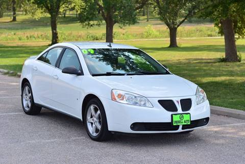 2009 Pontiac G6 for sale at UNISELL AUTO in Omaha NE