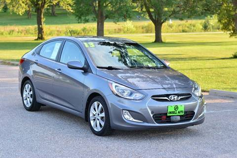 2013 Hyundai Accent for sale at UNISELL AUTO in Omaha NE