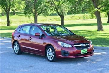 2012 Subaru Impreza for sale at UNISELL AUTO in Omaha NE