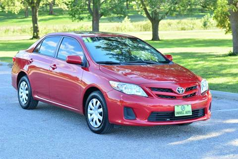 2011 Toyota Corolla for sale at UNISELL AUTO in Omaha NE