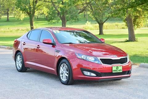 2013 Kia Optima for sale at UNISELL AUTO in Omaha NE