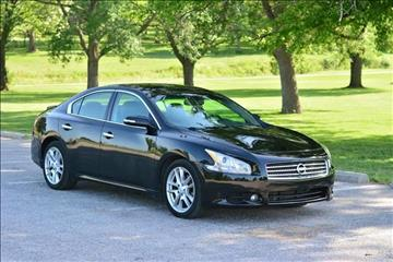 2009 Nissan Maxima for sale at UNISELL AUTO in Omaha NE