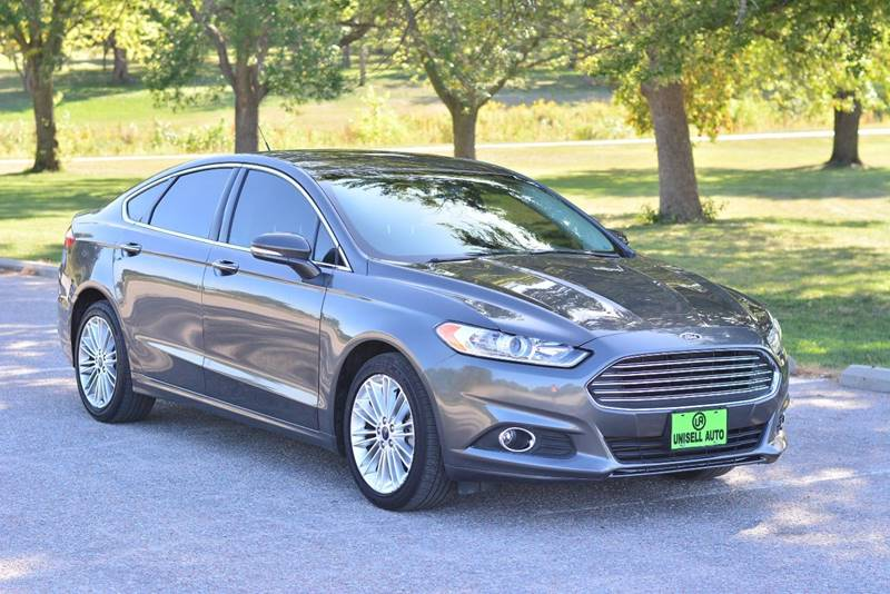 2016 Ford Fusion for sale at UNISELL AUTO in Omaha NE