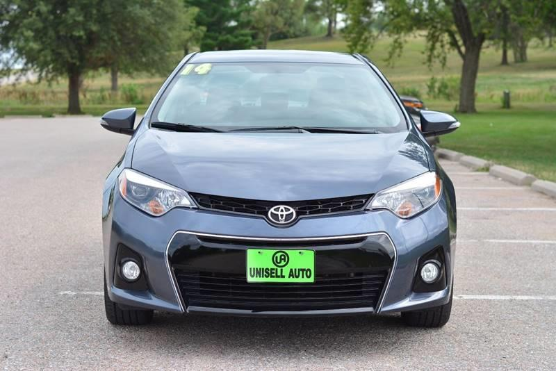 2014 Toyota Corolla for sale at UNISELL AUTO in Omaha NE