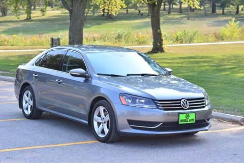 2012 Volkswagen Passat for sale at UNISELL AUTO in Omaha NE