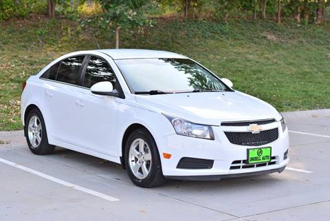 2013 Chevrolet Cruze for sale at UNISELL AUTO in Omaha NE