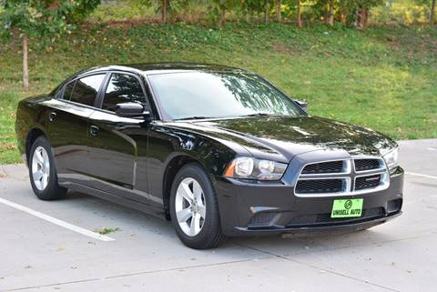 2014 Dodge Charger for sale at UNISELL AUTO in Omaha NE