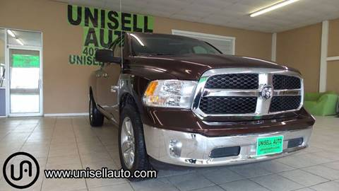 2015 RAM Ram Pickup 1500 for sale at UNISELL AUTO in Omaha NE