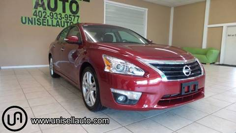 2015 Nissan Altima for sale at UNISELL AUTO in Omaha NE