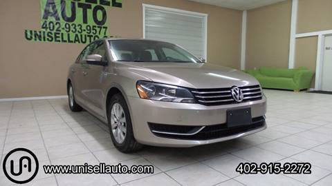 2015 Volkswagen Passat for sale at UNISELL AUTO in Omaha NE