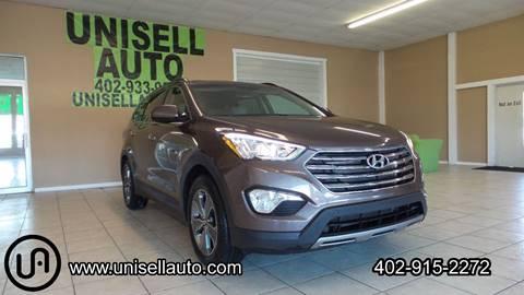 2015 Hyundai Santa Fe for sale at UNISELL AUTO in Omaha NE