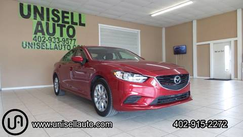 2016 Mazda MAZDA6 for sale at UNISELL AUTO in Omaha NE