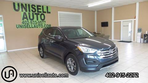 2016 Hyundai Santa Fe Sport for sale at UNISELL AUTO in Omaha NE