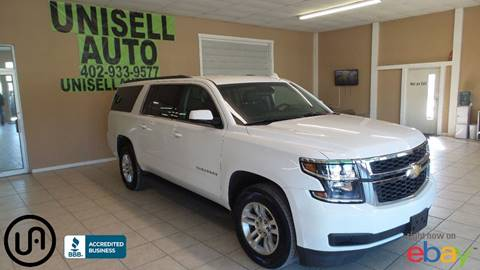 2015 Chevrolet Suburban for sale at UNISELL AUTO in Omaha NE