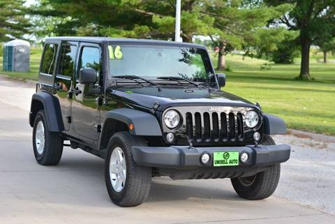 2016 Jeep Wrangler Unlimited for sale in Omaha, NE