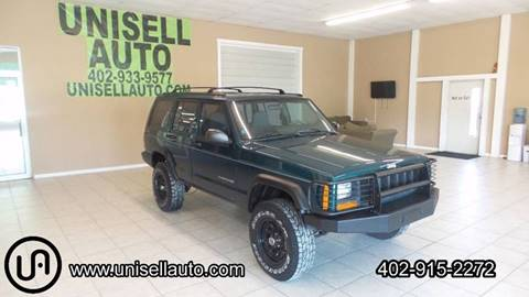 1998 Jeep Cherokee for sale at UNISELL AUTO in Omaha NE
