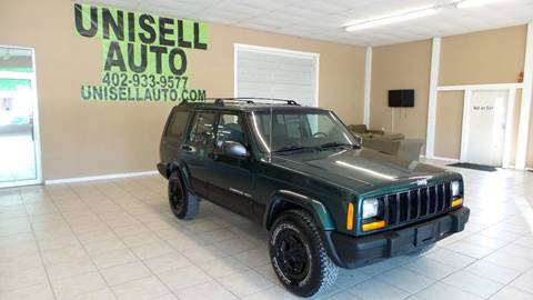 2000 Jeep Cherokee for sale at UNISELL AUTO in Omaha NE