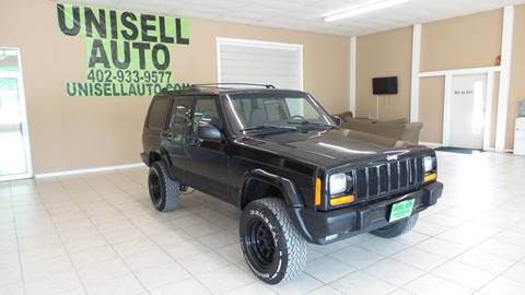 1999 Jeep Cherokee for sale at UNISELL AUTO in Omaha NE