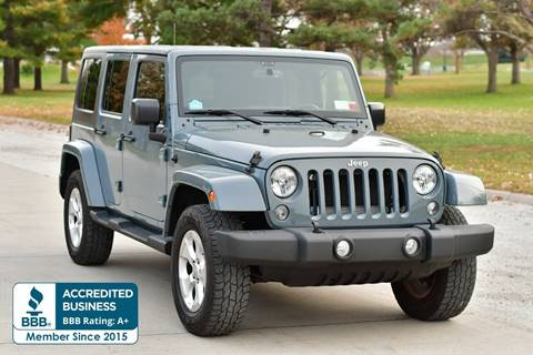 2015 Jeep Wrangler Unlimited for sale in Omaha, NE