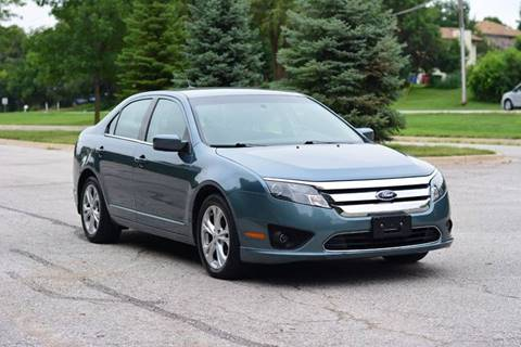 2012 Ford Fusion for sale at UNISELL AUTO in Omaha NE