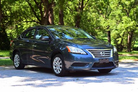 2014 Nissan Sentra for sale at UNISELL AUTO in Omaha NE