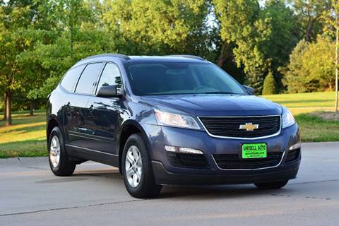 2014 Chevrolet Traverse for sale at UNISELL AUTO in Omaha NE