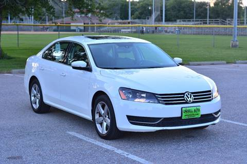 2013 Volkswagen Passat for sale at UNISELL AUTO in Omaha NE