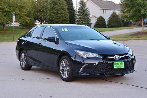 2015 Toyota Camry for sale at UNISELL AUTO in Omaha NE