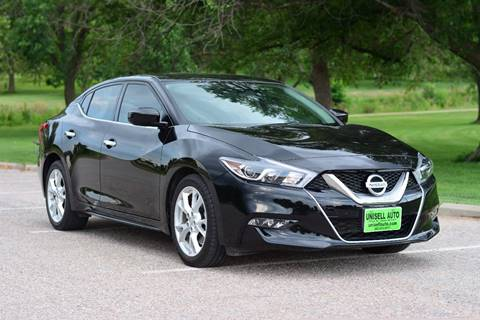 2016 Nissan Maxima for sale at UNISELL AUTO in Omaha NE