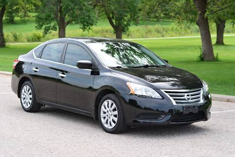 2013 Nissan Sentra for sale at UNISELL AUTO in Omaha NE