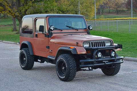 1995 Jeep Wrangler for sale at UNISELL AUTO in Omaha NE