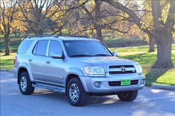 2006 Toyota Sequoia for sale at UNISELL AUTO in Omaha NE