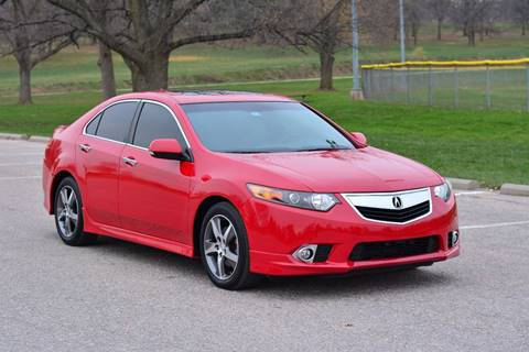 2012 Acura TSX for sale at UNISELL AUTO in Omaha NE