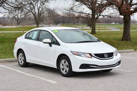 2014 Honda Civic for sale at UNISELL AUTO in Omaha NE