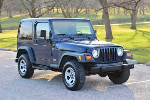 2000 Jeep Wrangler for sale at UNISELL AUTO in Omaha NE