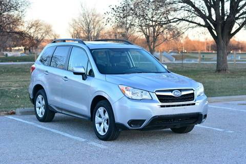 2015 Subaru Forester for sale at UNISELL AUTO in Omaha NE