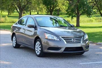 2015 Nissan Sentra for sale at UNISELL AUTO in Omaha NE