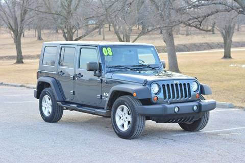 2008 Jeep Wrangler Unlimited for sale at UNISELL AUTO in Omaha NE