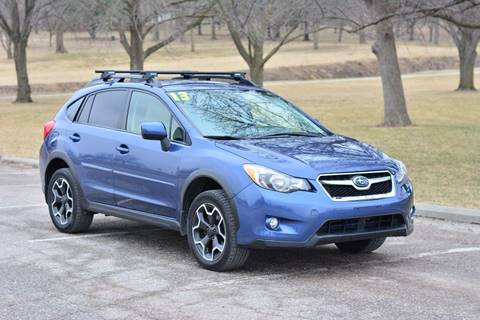 2013 Subaru XV Crosstrek for sale at UNISELL AUTO in Omaha NE