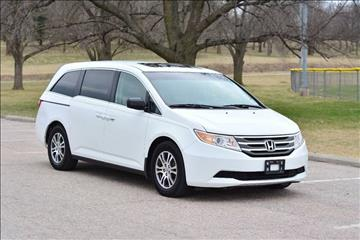 2012 Honda Odyssey for sale at UNISELL AUTO in Omaha NE