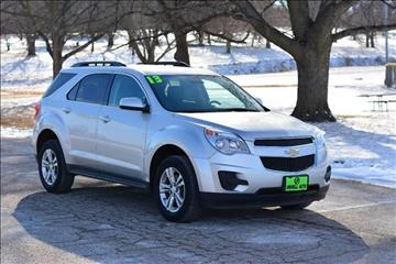 2013 Chevrolet Equinox for sale at UNISELL AUTO in Omaha NE