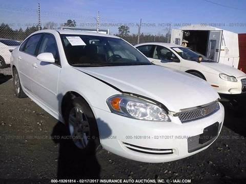 2013 Chevrolet Impala for sale in Jacksonville, FL