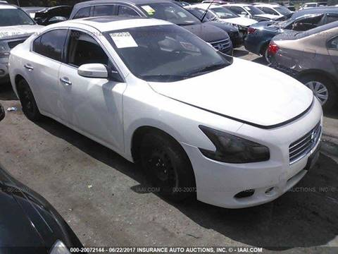 Nissan Maxima For Sale In Jacksonville Fl