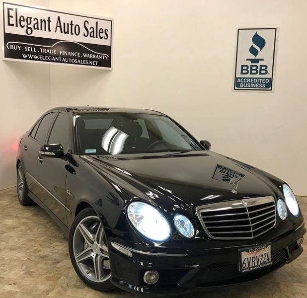 2008 Mercedes-Benz E-Class E 63 AMG 4dr Sedan - Rancho Cordova CA